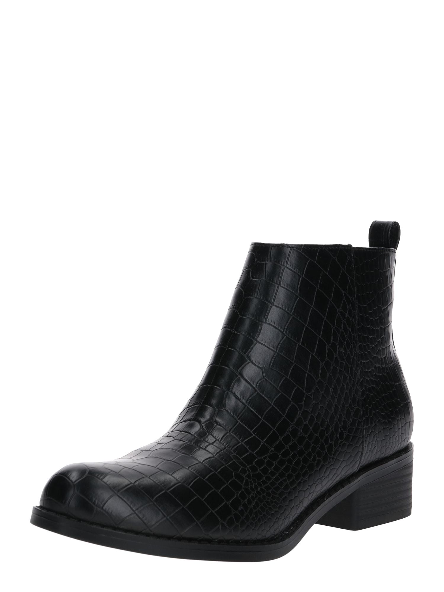 Bianco Auliniai batai su kulniuku juoda