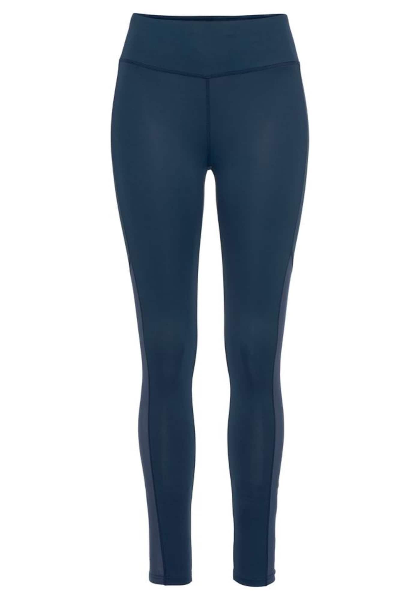 LASCANA ACTIVE Sportinės kelnės 'Like a Feather' tamsiai mėlyna jūros spalva