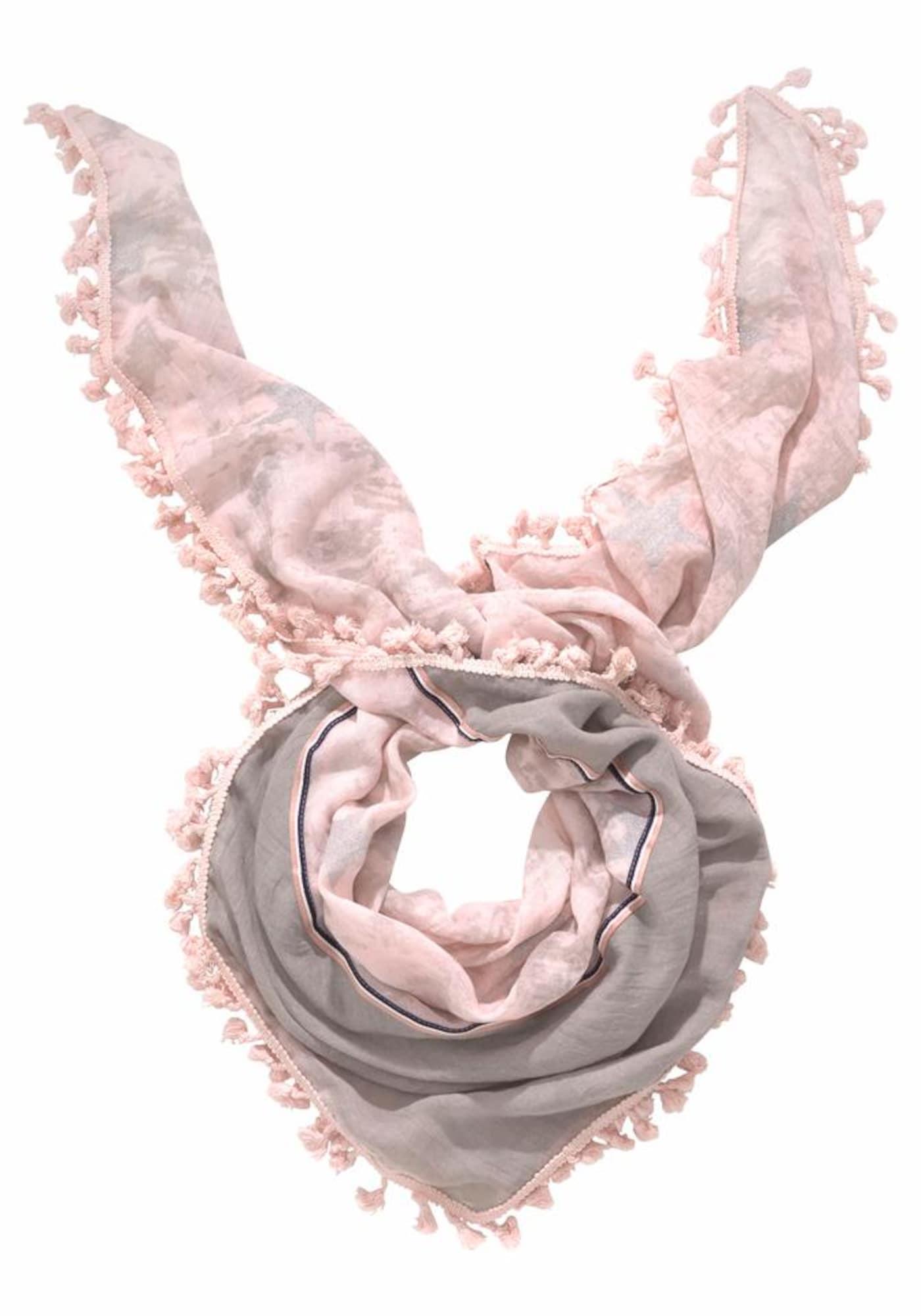Schals für Frauen - J. Jayz Modetuch grau rosé  - Onlineshop ABOUT YOU
