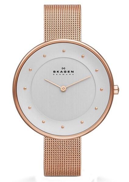 Uhren für Frauen - SKAGEN Armbanduhr 'GITTE' rosegold  - Onlineshop ABOUT YOU