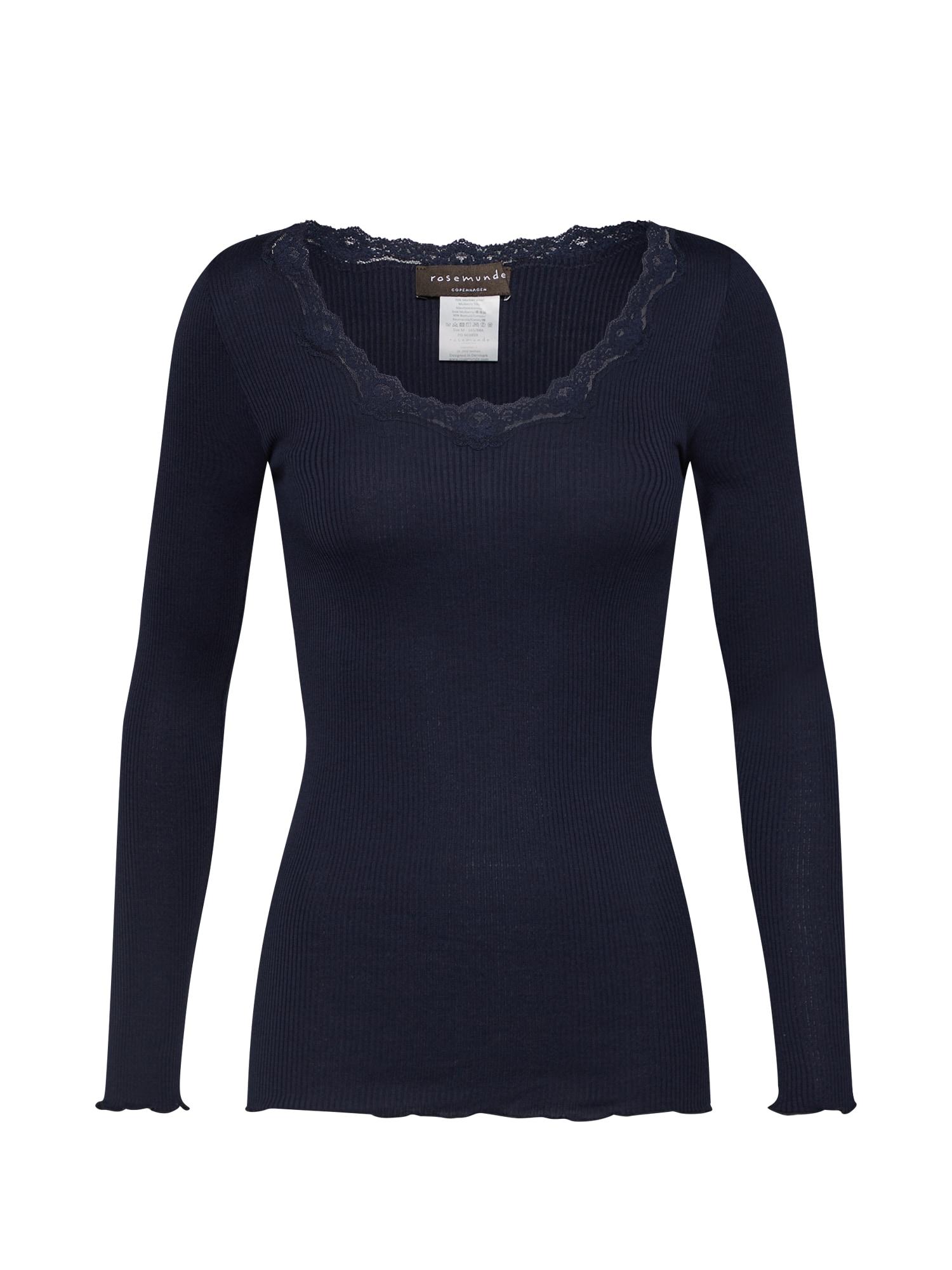 rosemunde Marškinėliai tamsiai mėlyna