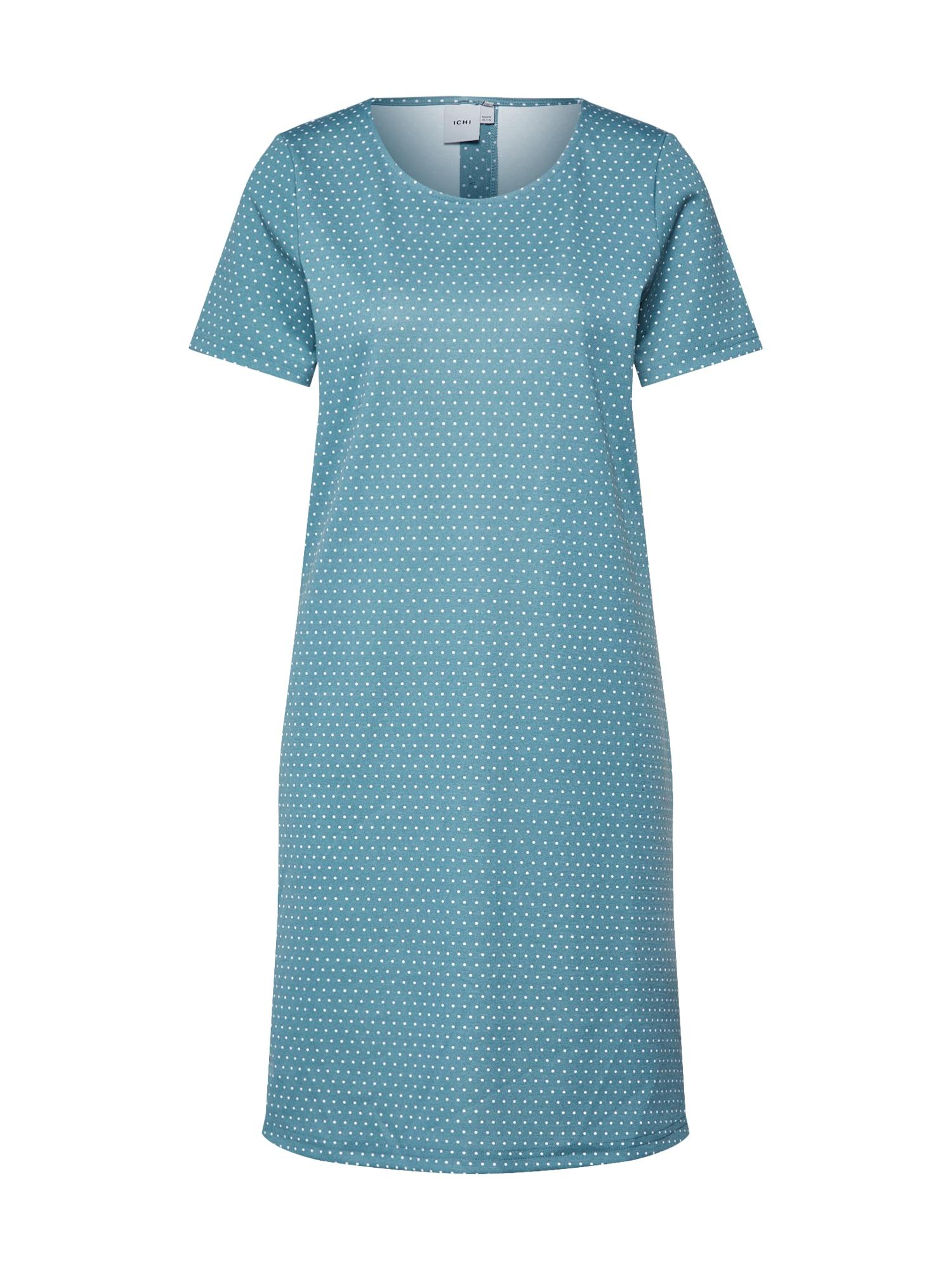 ICHI Vasarinė suknelė 'KATE SPOT' dangaus žydra