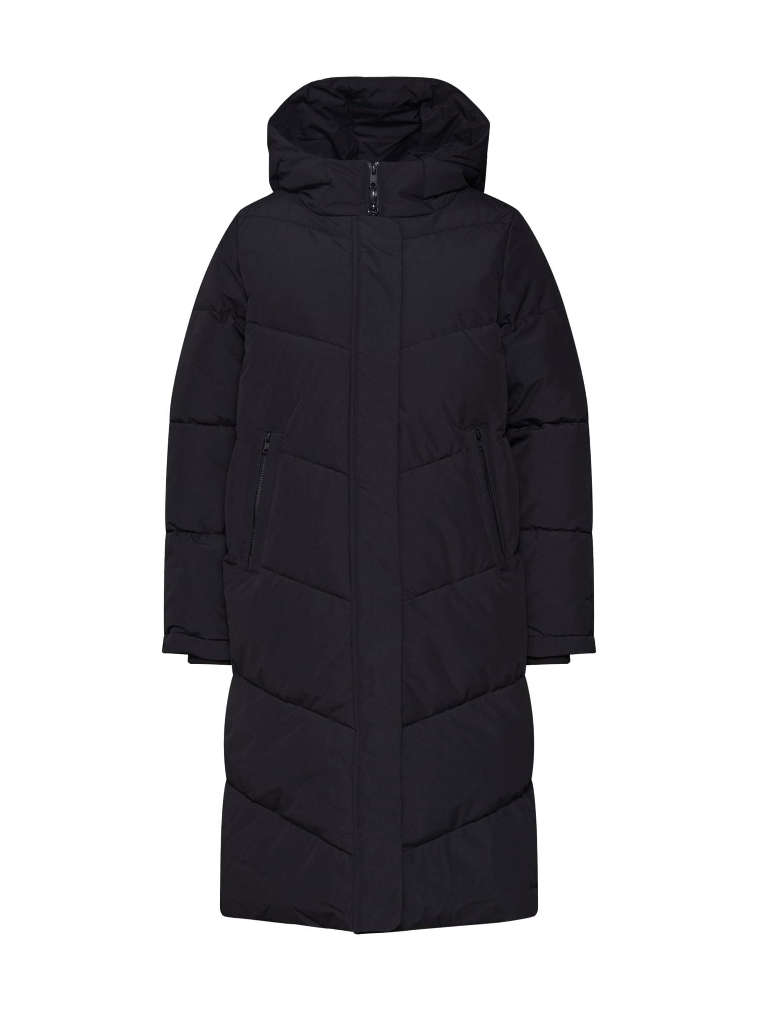 elvine Žieminis paltas 'Naemi' juoda