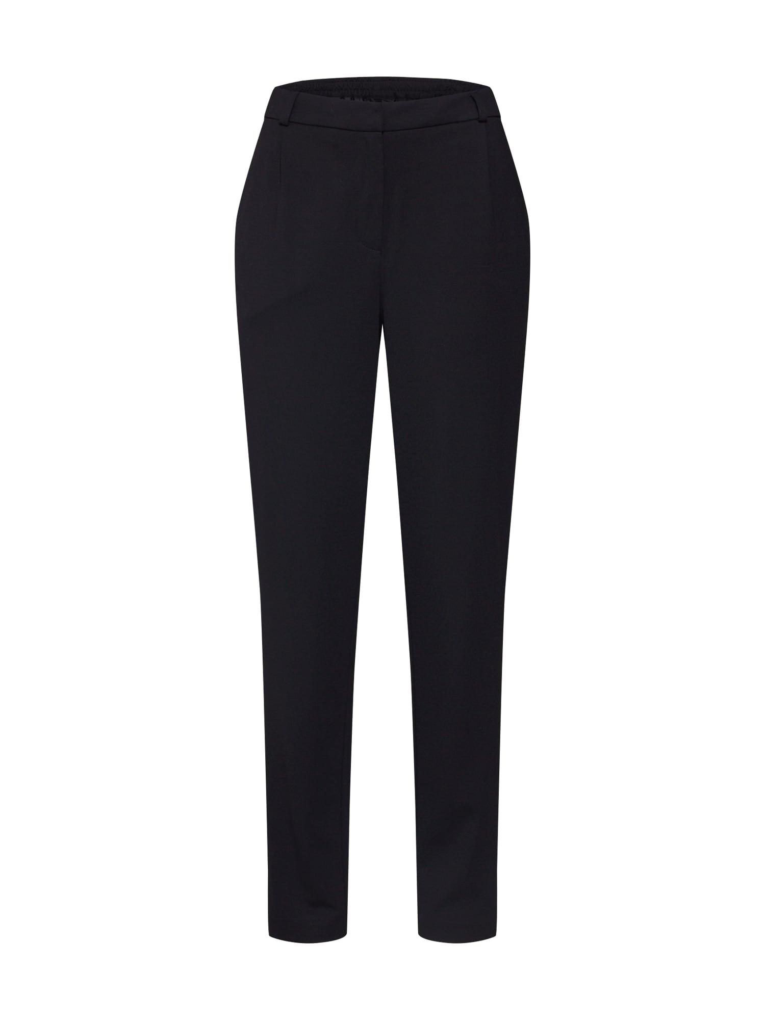 VERO MODA Plisované nohavice 'VMJUSSI'  čierna