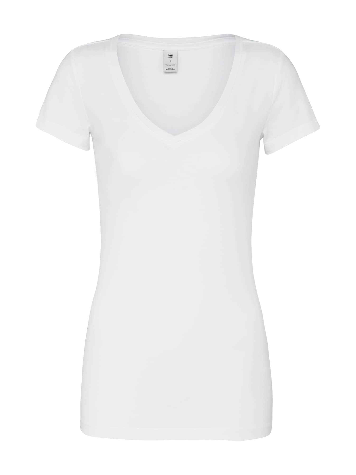 G-Star RAW Tričko 'BASE'  biela