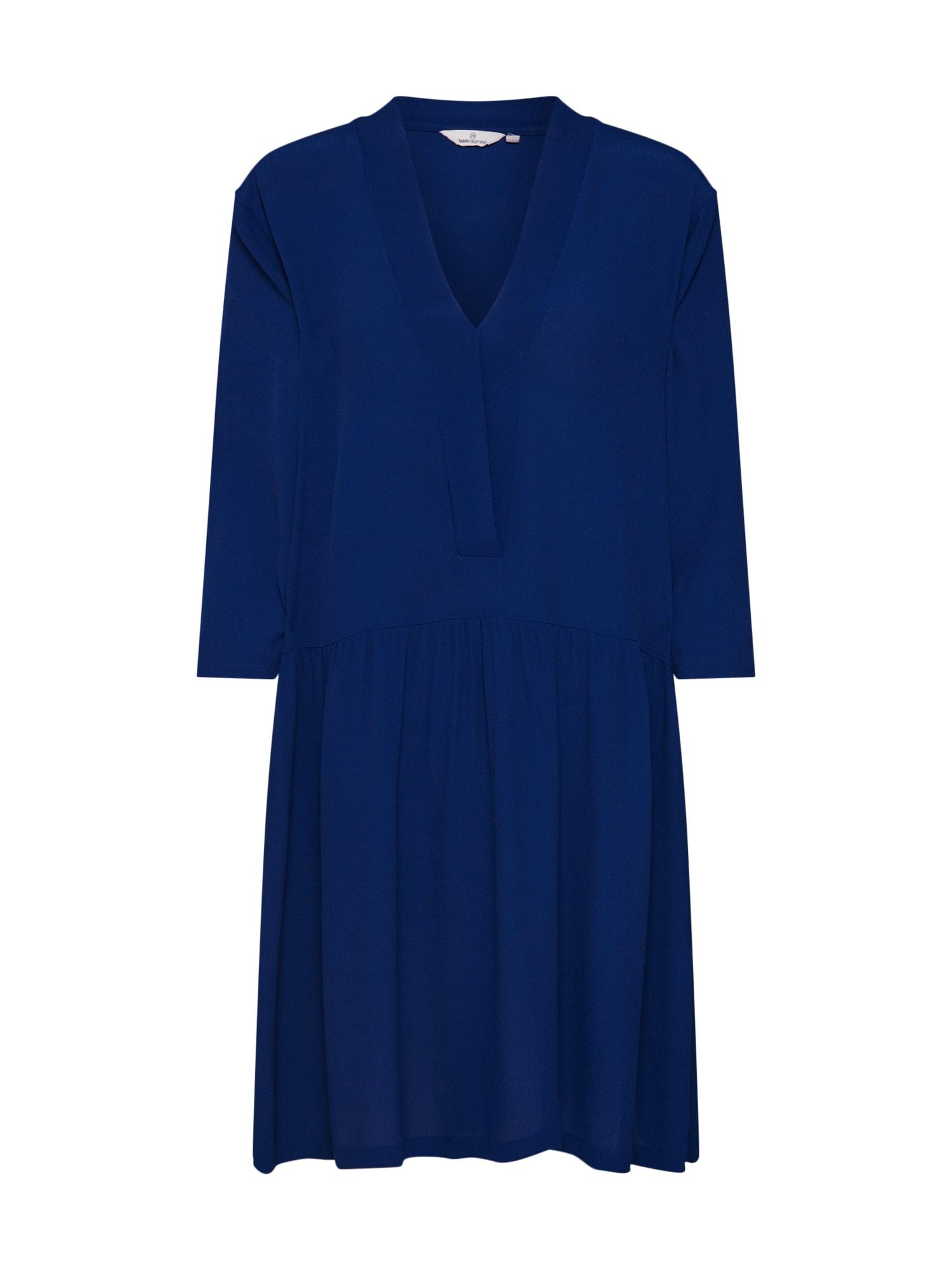 Šaty Tyra námořnická modř Basic Apparel
