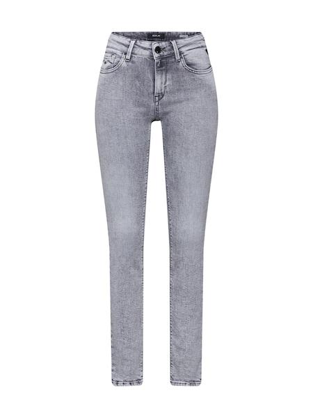 Hosen - Jeans 'Luz High Waist' › Replay › grey denim  - Onlineshop ABOUT YOU
