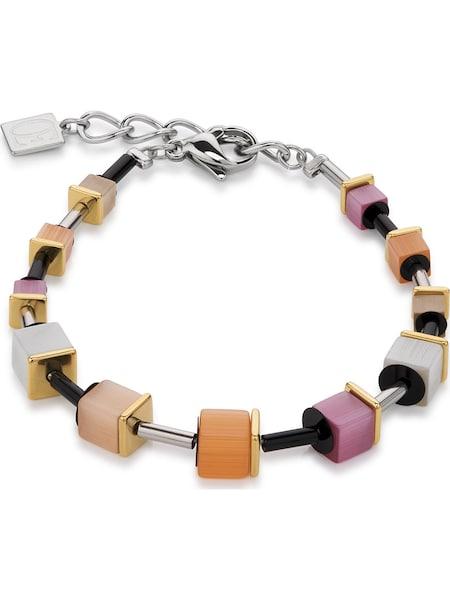 Armbaender für Frauen - Coeur De Lion Armband '4909 30 0219' mischfarben orange silber  - Onlineshop ABOUT YOU