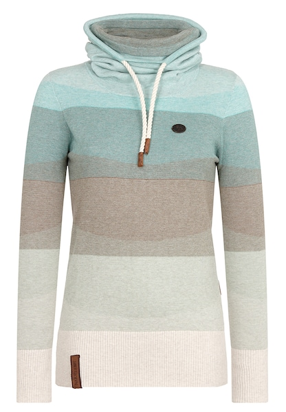 Oberteile für Frauen - Pullover › Naketano › beige hellbeige türkis hellblau  - Onlineshop ABOUT YOU