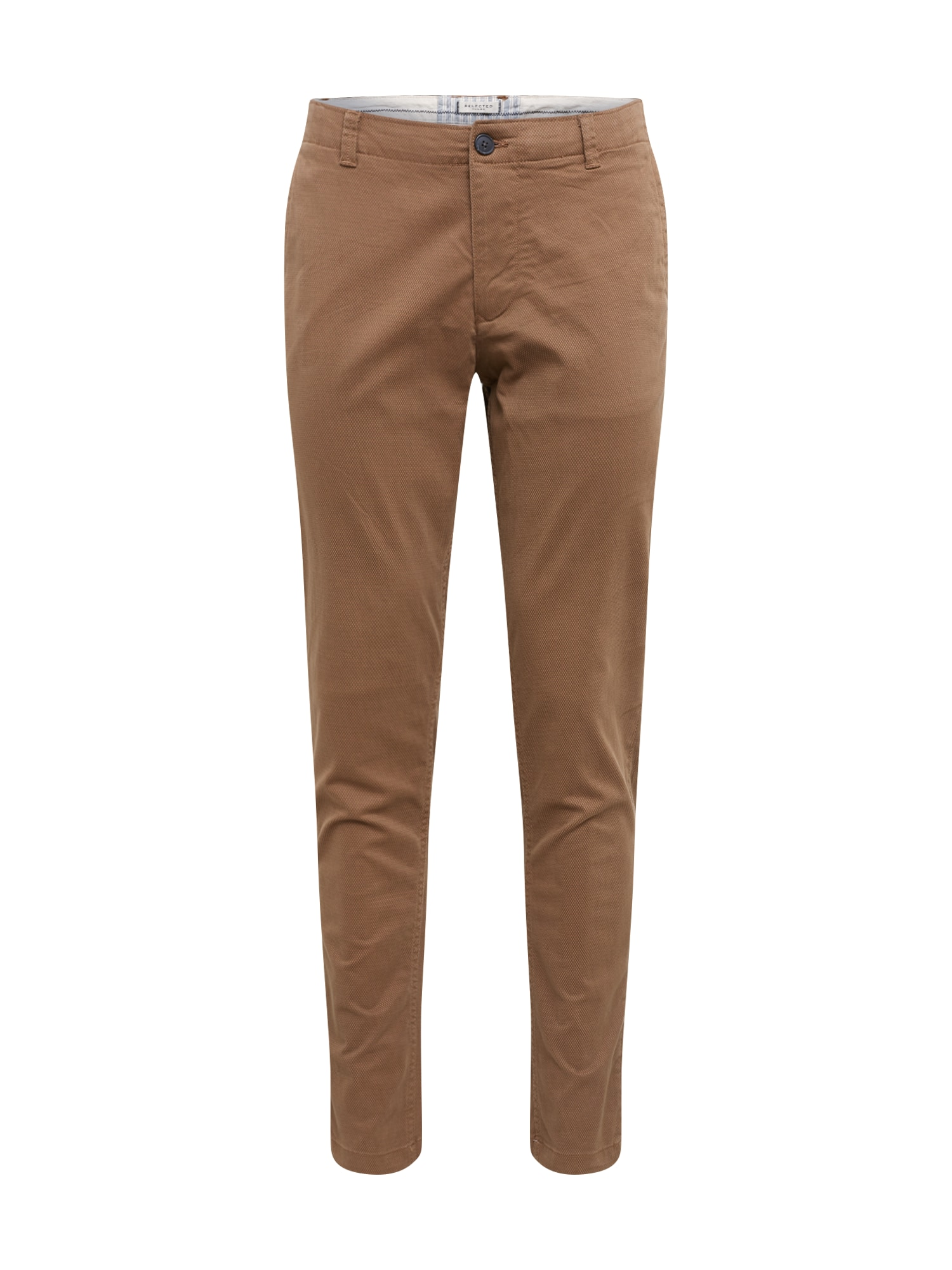 SELECTED HOMME Pantaloni eleganți  maro