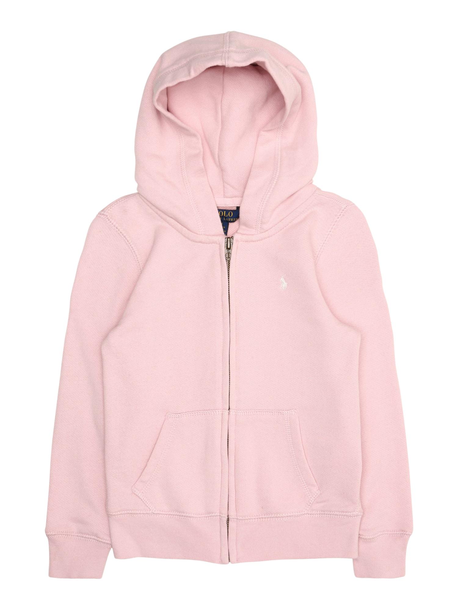 POLO RALPH LAUREN Mikina s kapucí  pink