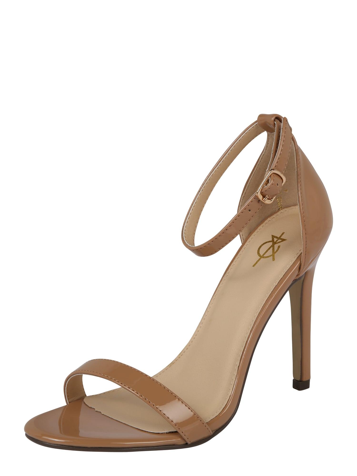 Páskové sandály JASMINE velbloudí 4th & Reckless