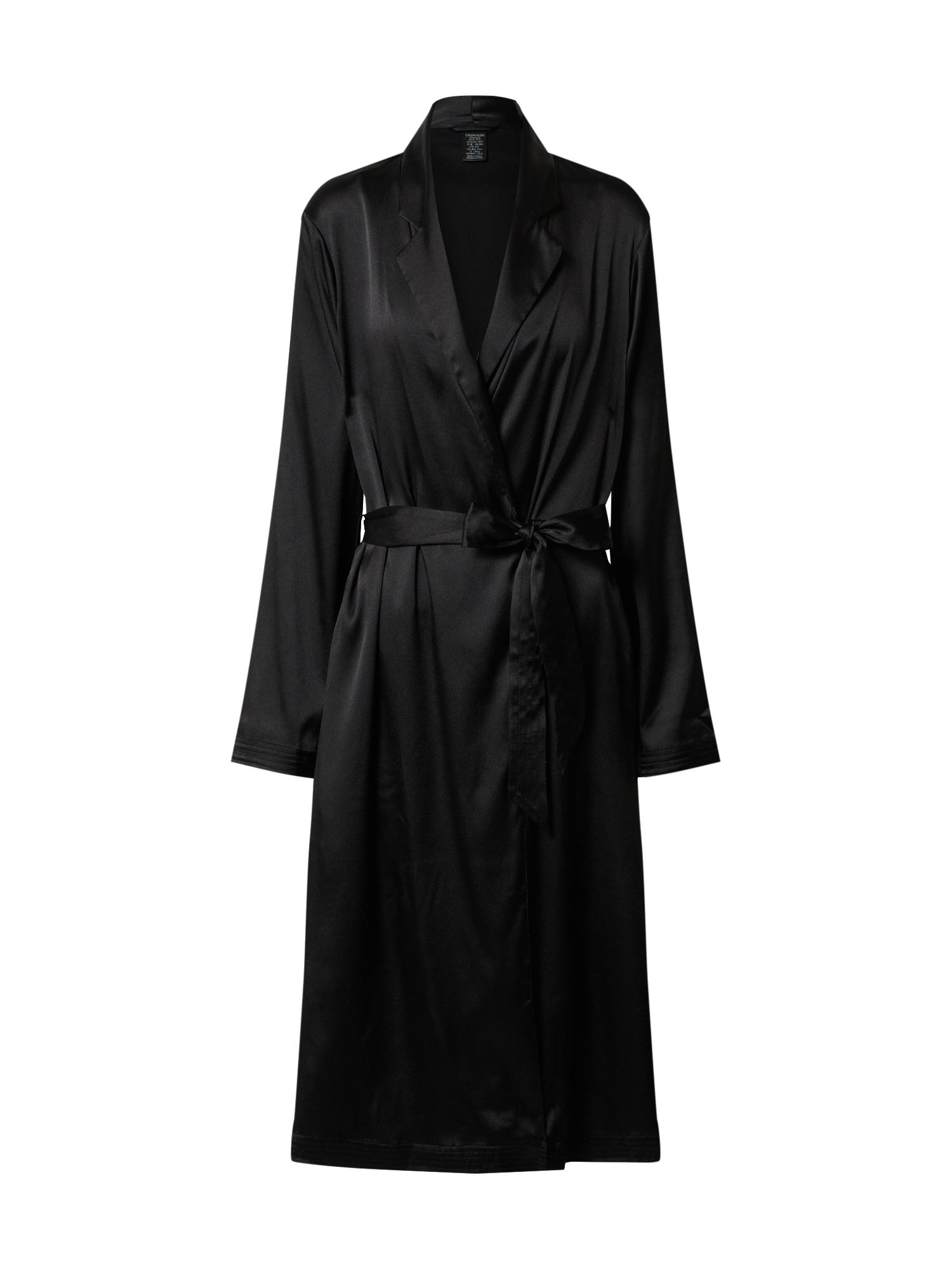 Calvin Klein Underwear Chalatas 'ROBE' juoda