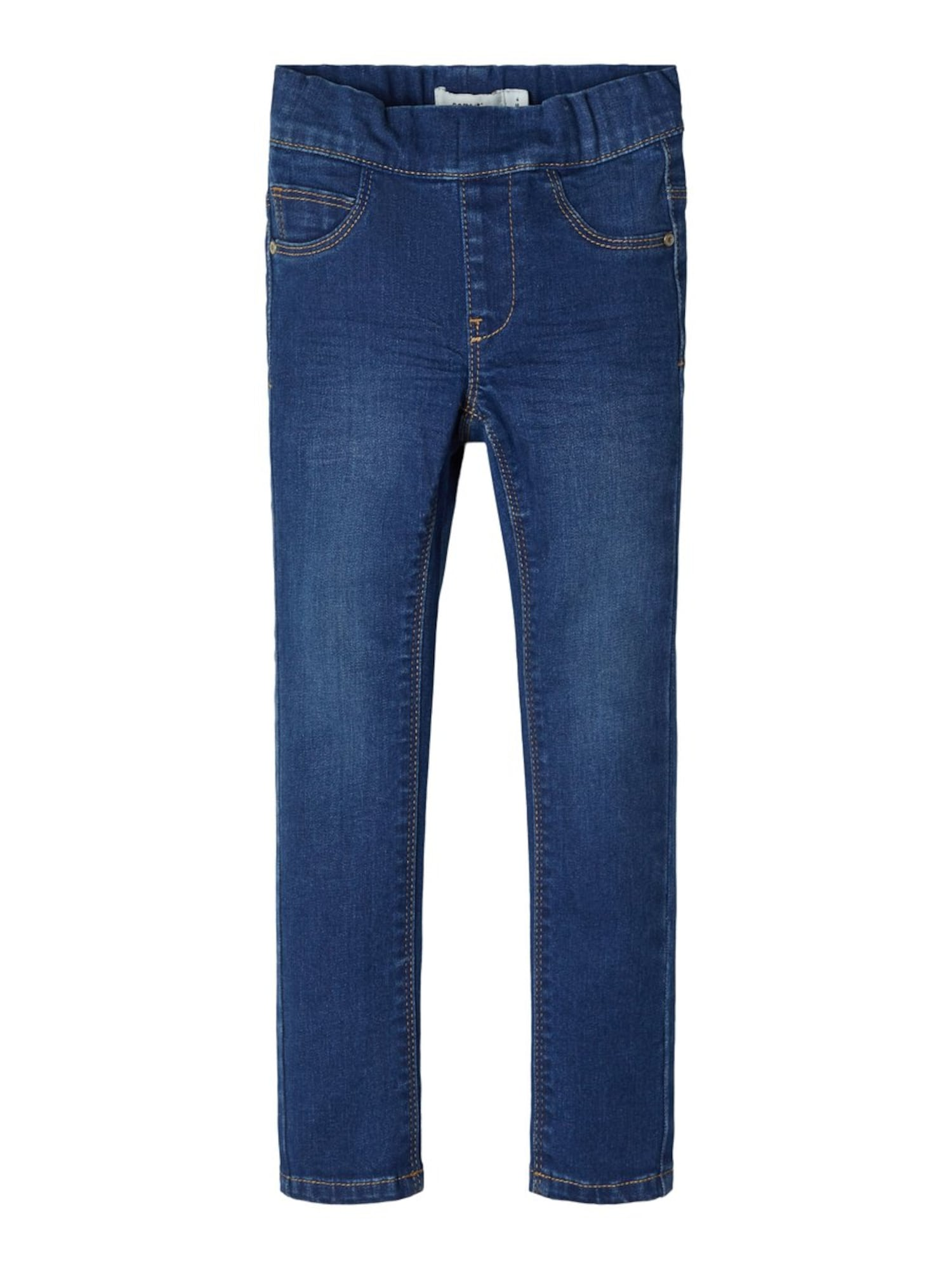 NAME IT Kelnės tamsiai (džinso) mėlyna