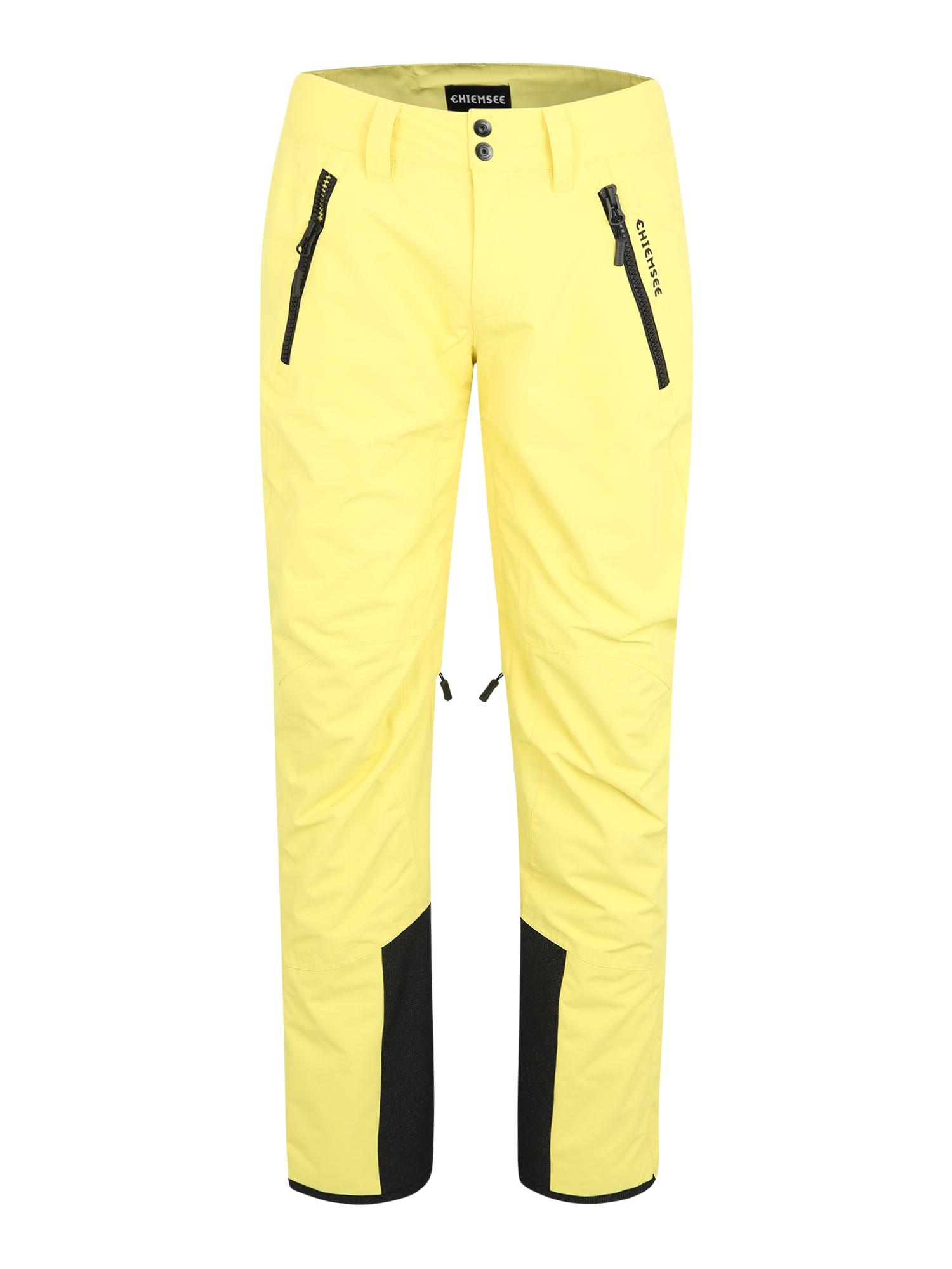 CHIEMSEE Laisvalaikio kelnės geltona