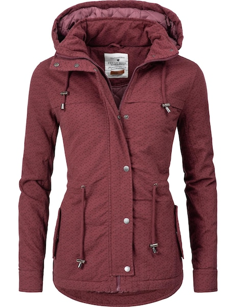 Jacken - Jacke '44446A' › Fresh Made › weinrot  - Onlineshop ABOUT YOU