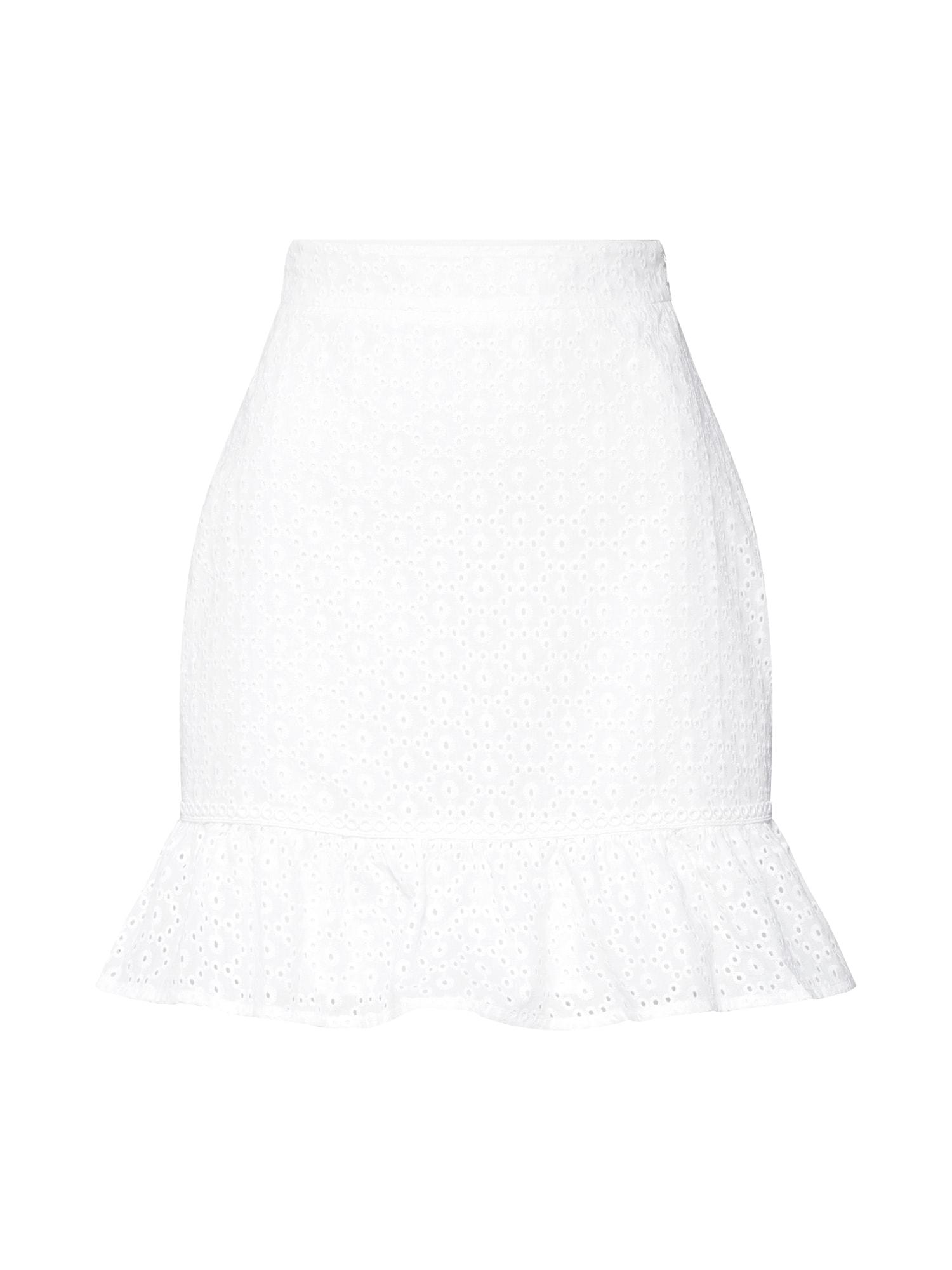 Sukně Heynow bílá Fashion Union