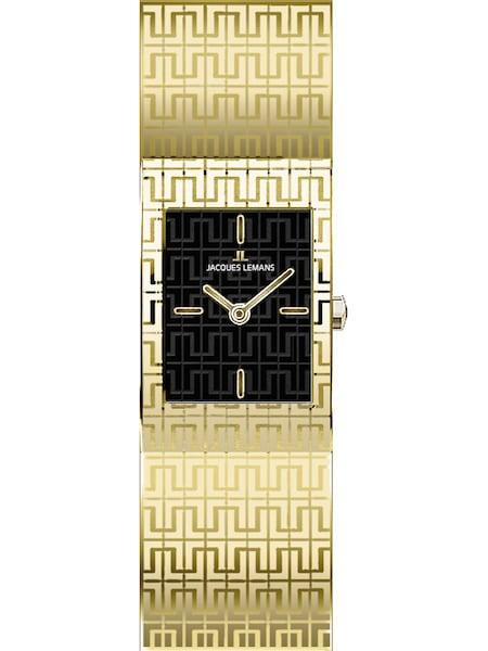 Uhren für Frauen - Jacques Lemans Damenuhr 'Vedette' gold schwarz  - Onlineshop ABOUT YOU