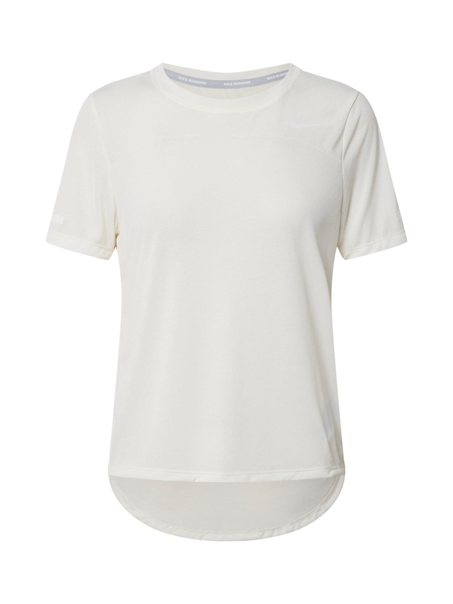 NIKE Sportiniai marškinėliai kiaušinio lukšto spalva