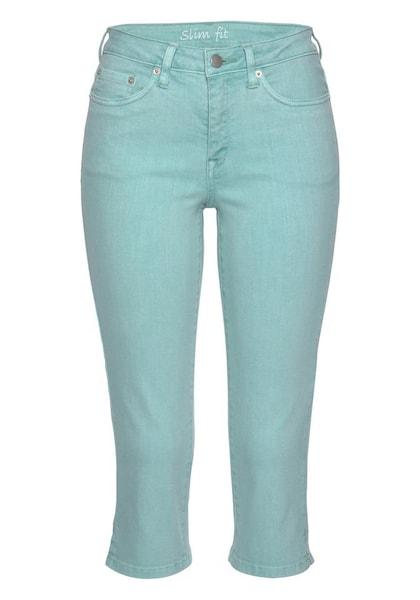 Hosen für Frauen - CHEER Caprijeans mint  - Onlineshop ABOUT YOU