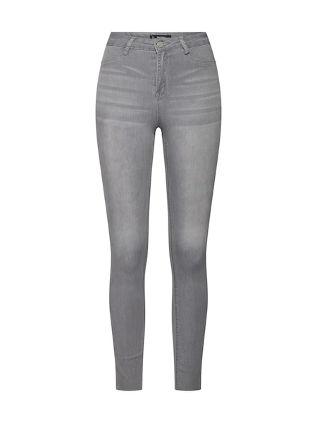 Hosen für Frauen - Missguided Jeans grau  - Onlineshop ABOUT YOU