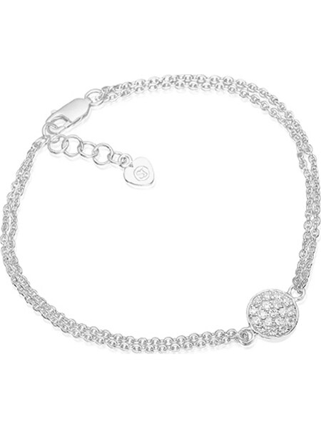 Armbaender für Frauen - Sif Jakobs Armband 'Sacile SJ B2071 CZ' silber  - Onlineshop ABOUT YOU