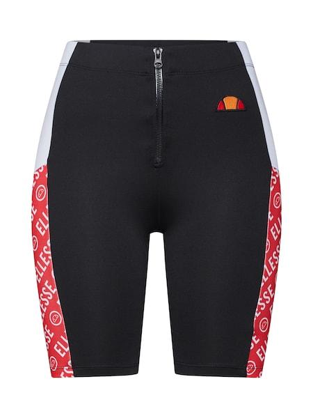 Hosen für Frauen - Shorts 'FIORE' › Ellesse › rot schwarz weiß  - Onlineshop ABOUT YOU