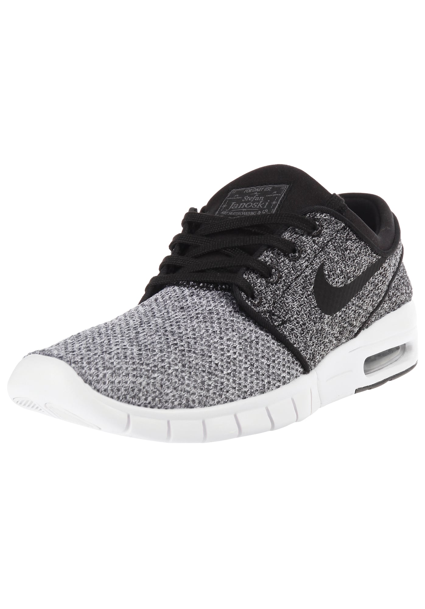Nike SB, Damen Sneakers laag Stefan Janoski Max, lichtgrijs