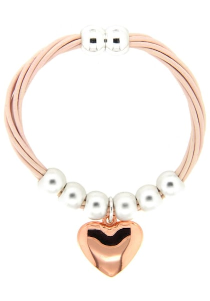 Armbaender für Frauen - Sweet Deluxe Armband 'Herz, Tory' rosegold silber  - Onlineshop ABOUT YOU