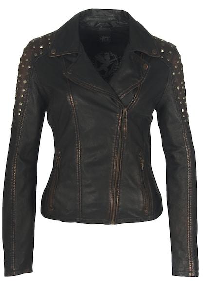 Jacken für Frauen - Gipsy Lederjacke 'STUDDY W19 LARETV' braun  - Onlineshop ABOUT YOU