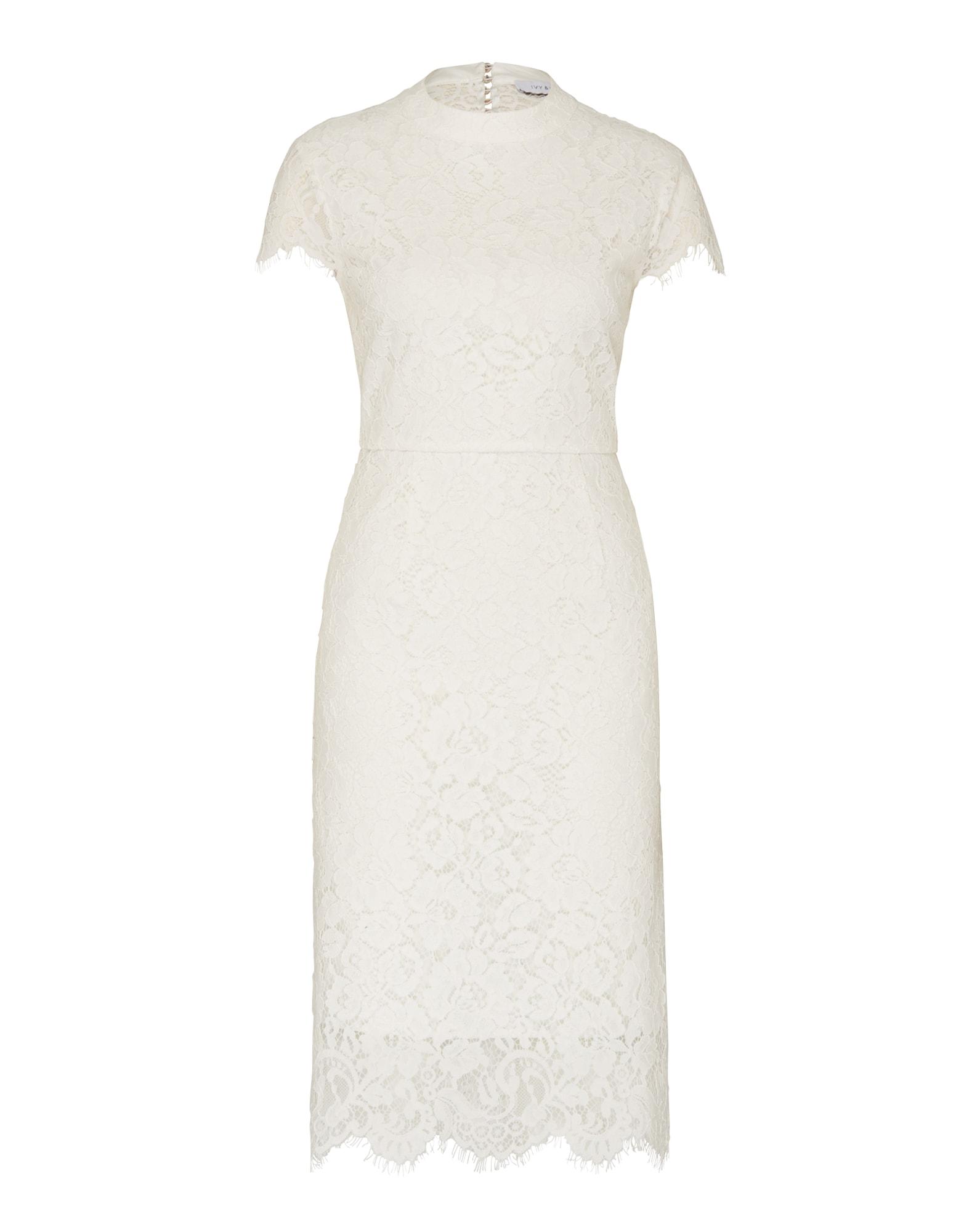 IVY & OAK Kokteilinė suknelė balta