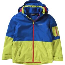 Regatta Kinder,Mädchen 3-in-1 Outdoorjacke blau,gelb,rot | 05020436794064