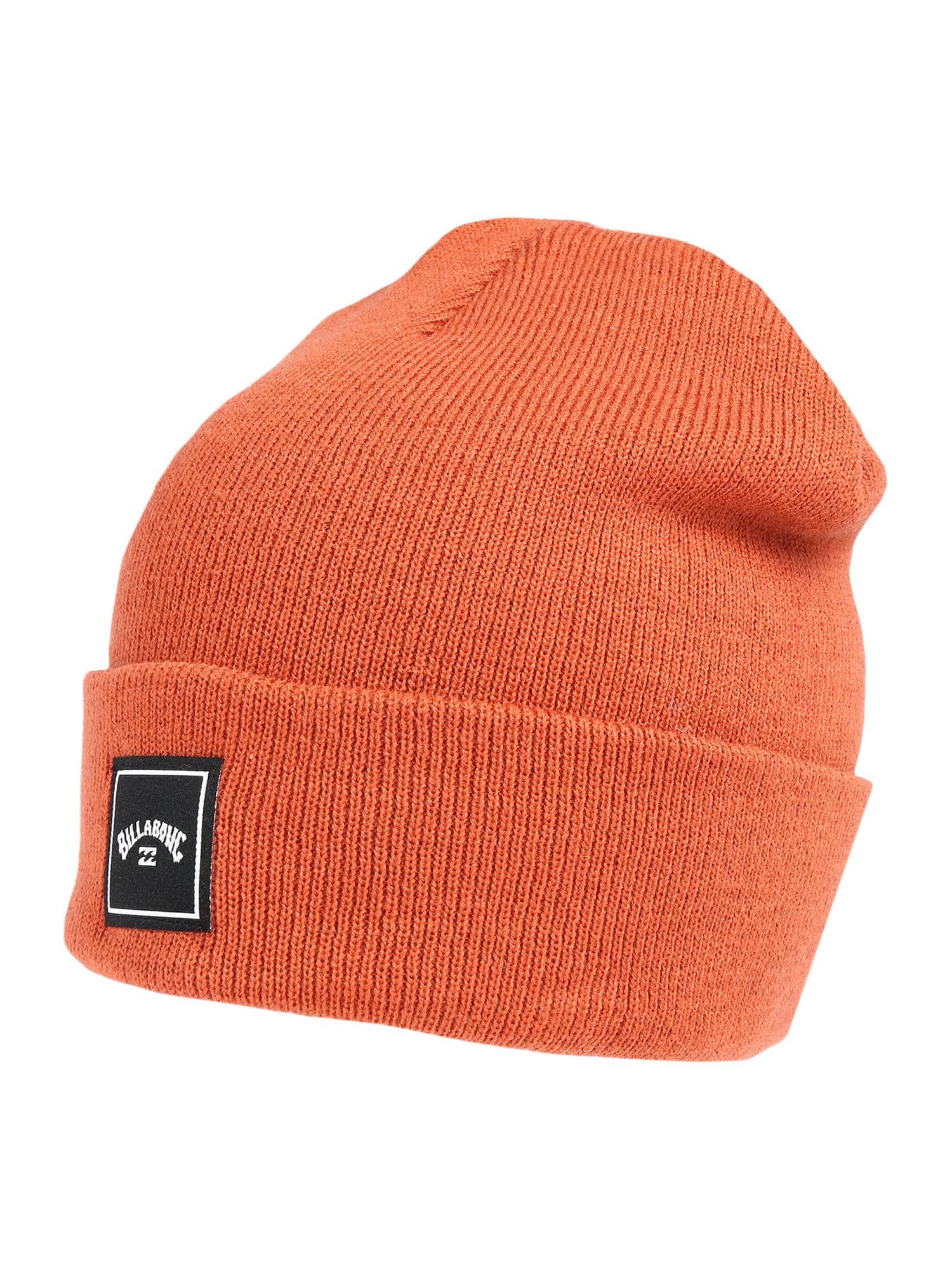 BILLABONG Športová čiapka 'STACKED'  oranžová / čierna