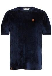 Naketano Herren T-Shirt koks & bitches II blau   04049502592404
