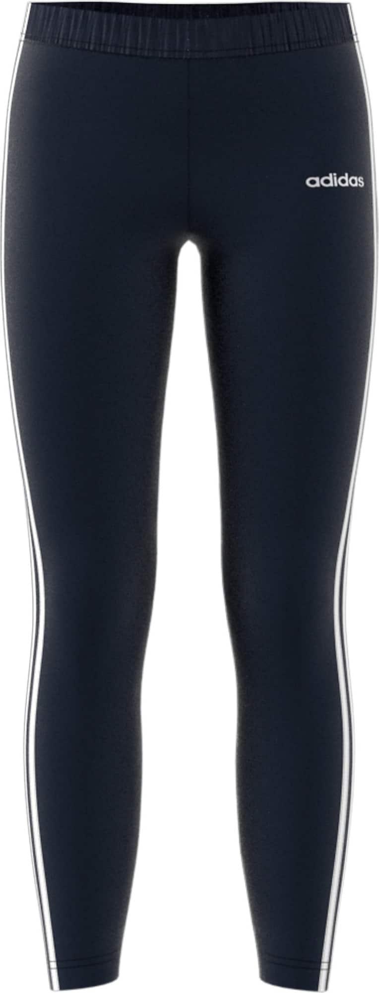 ADIDAS PERFORMANCE Sportinės kelnės 'YG E 3S' mėlyna