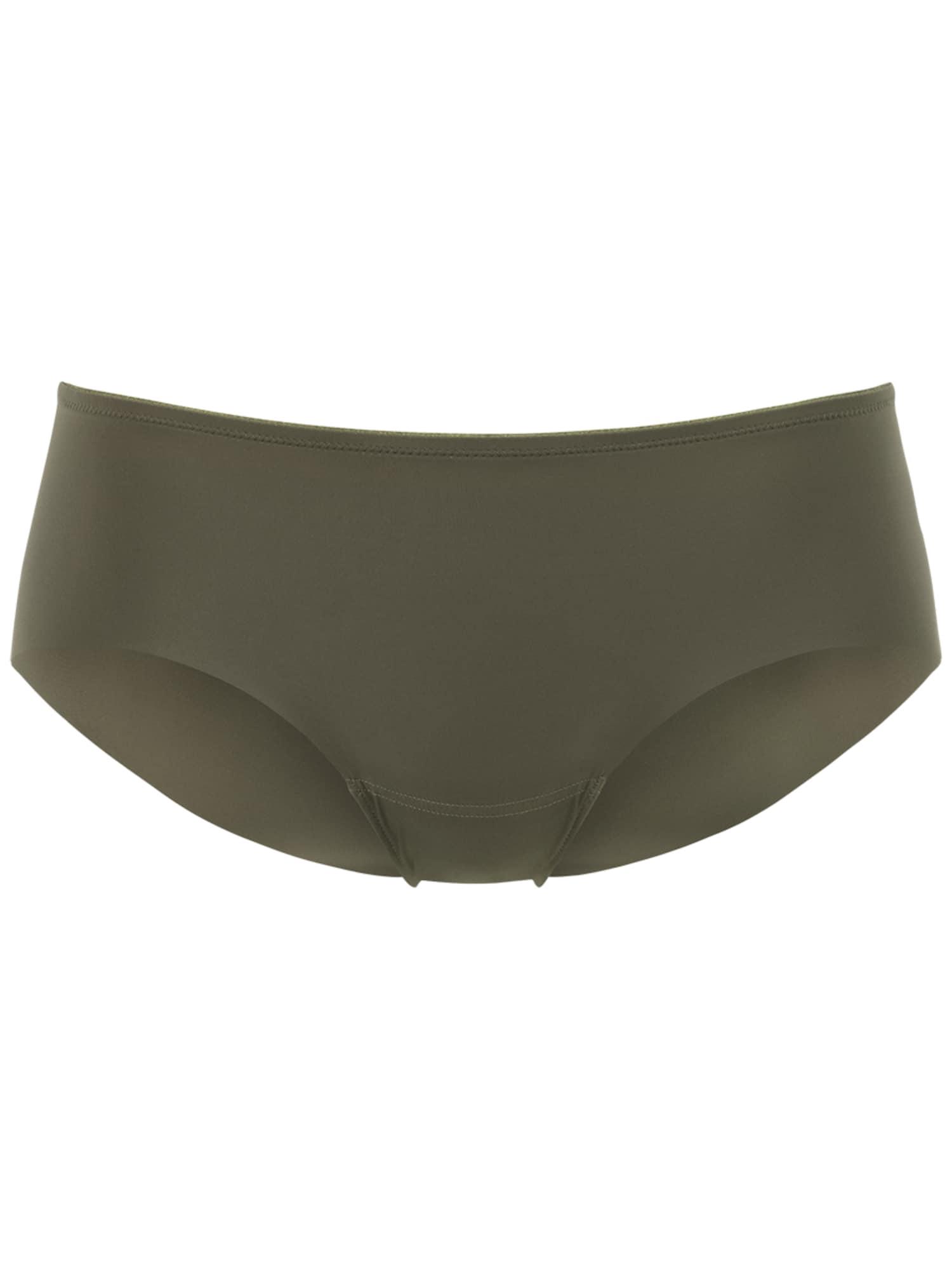PALMERS Kelnaitės paaukštintu liemeniu 'Contour Panty Regular' rusvai žalia