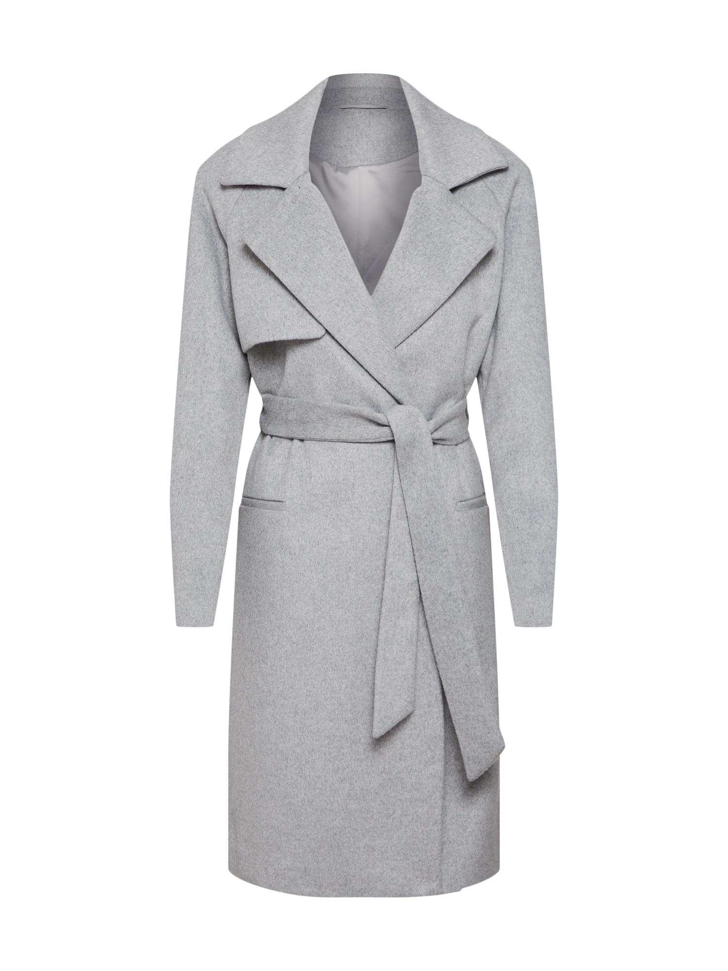 Přechodný kabát 2ND Livia světle šedá 2ND DAY