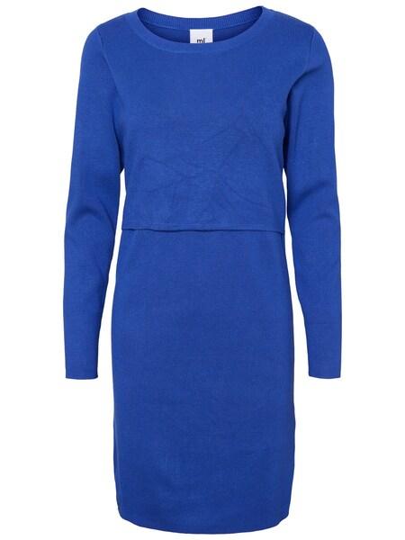 Schwangerschaftsmode - Still Kleid › Mamalicious › blau  - Onlineshop ABOUT YOU