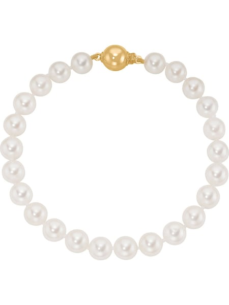 Armbaender für Frauen - CHRIST Pearls Armband 82203133 gold  - Onlineshop ABOUT YOU