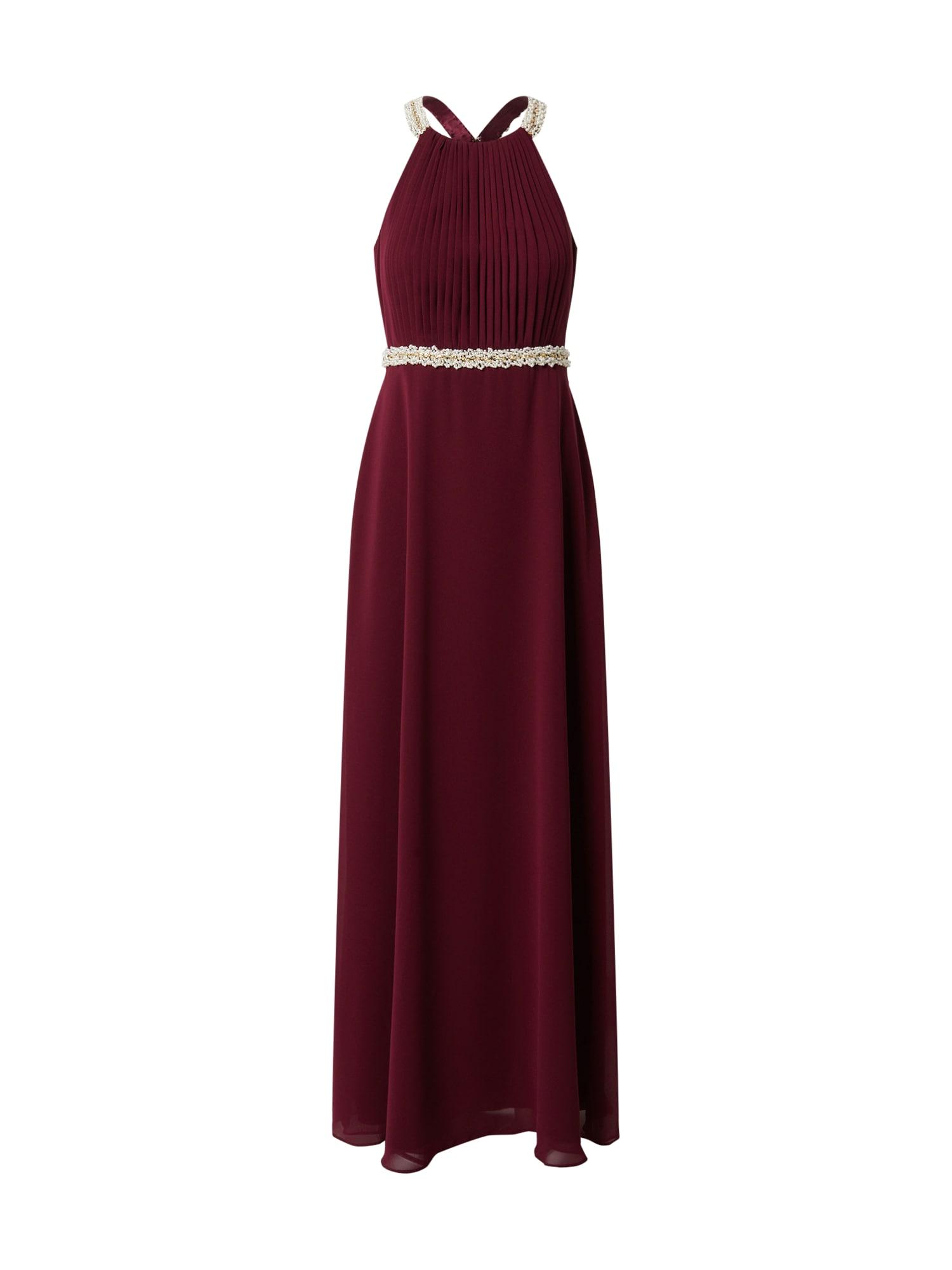 Vera Mont Vakarinė suknelė karmino raudona