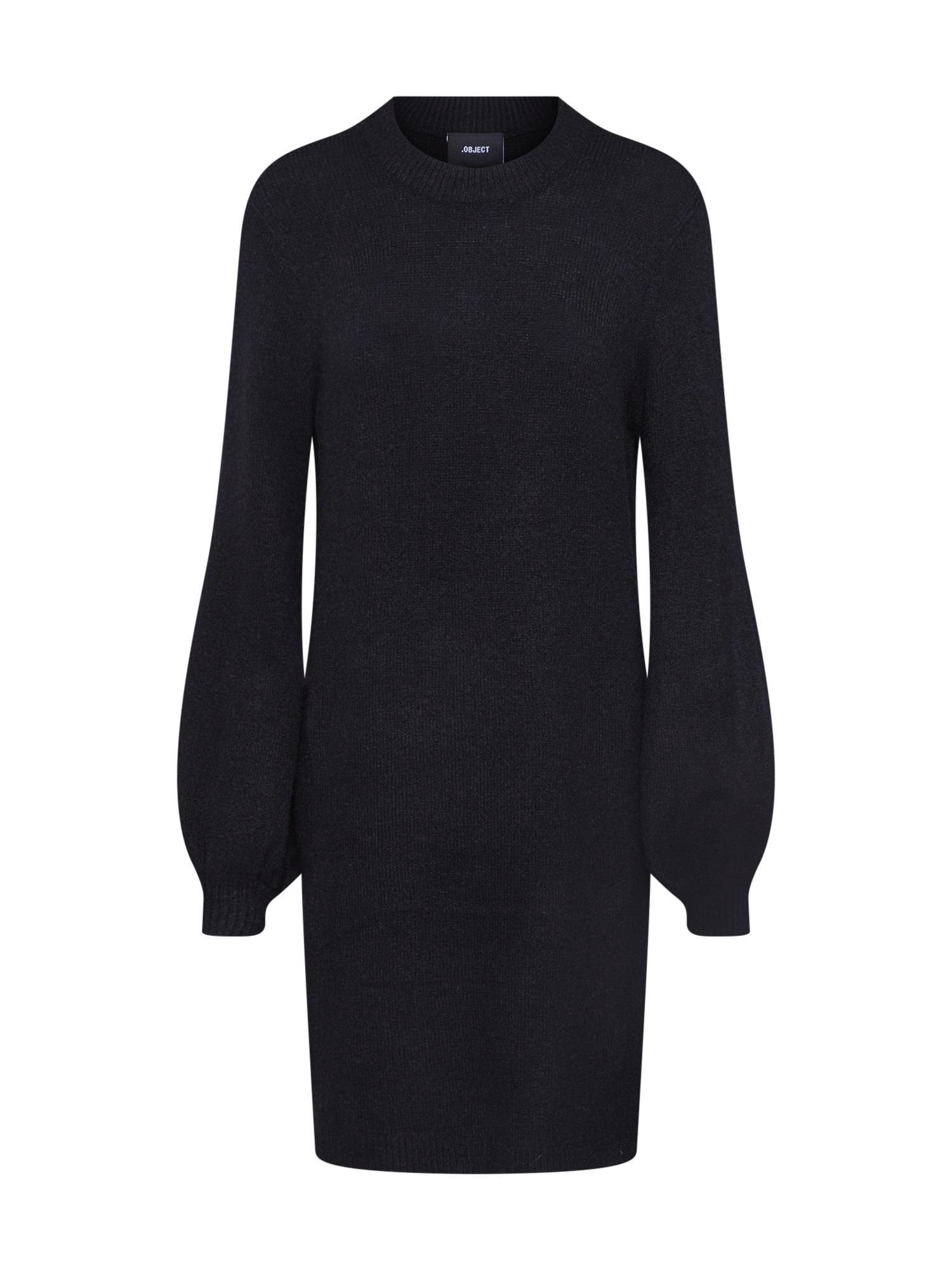 OBJECT Megzta suknelė 'EVE NONSIA' juoda
