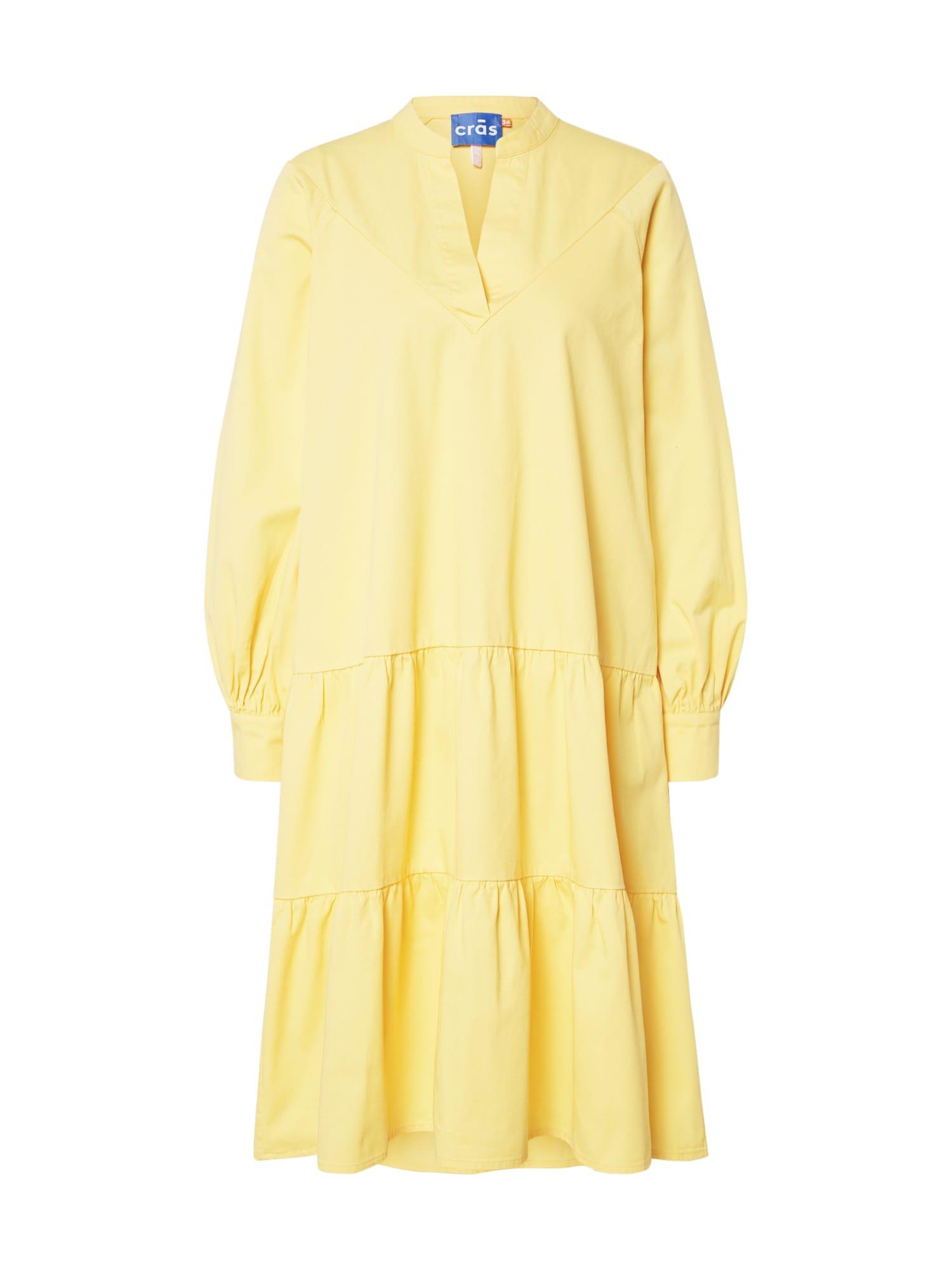 Crās Vasarinė suknelė 'Luciacras' geltona
