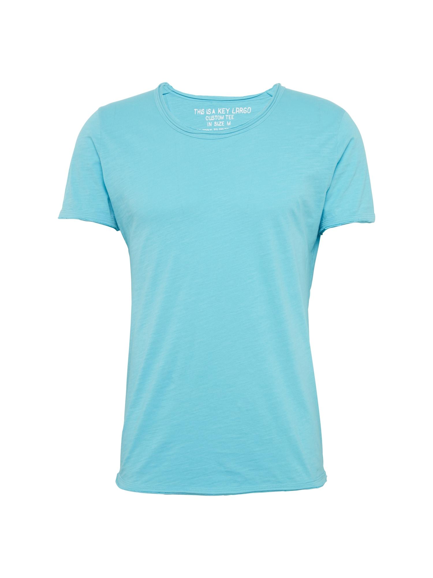 Tričko T BREAD aqua modrá Key Largo