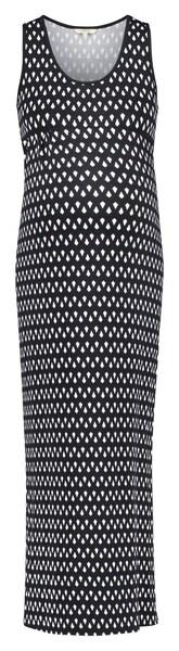 Schwangerschaftsmode - Kleid 'Penelope Aop' › Noppies › schwarz weiß  - Onlineshop ABOUT YOU