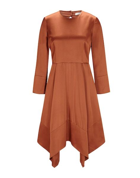 Festtagsmode - Mini Kleid mit Rückenausschnitt › IVY OAK › apricot  - Onlineshop ABOUT YOU