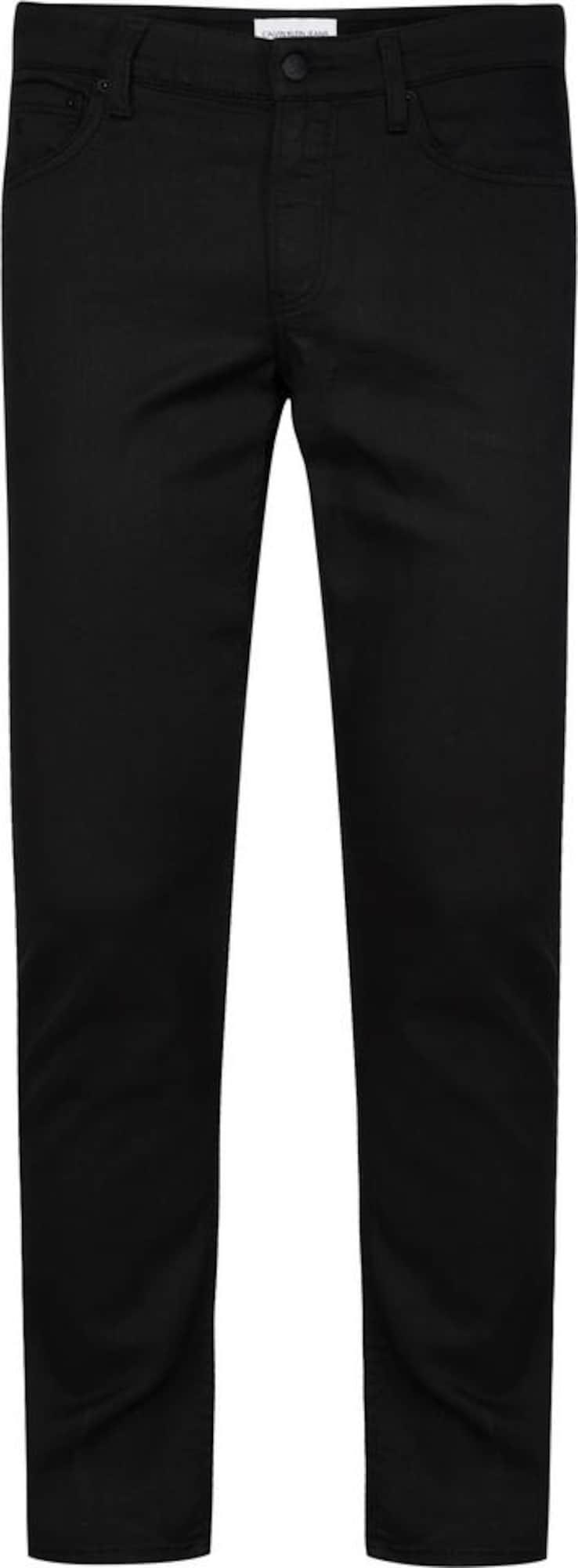 Calvin Klein Džinsai juoda