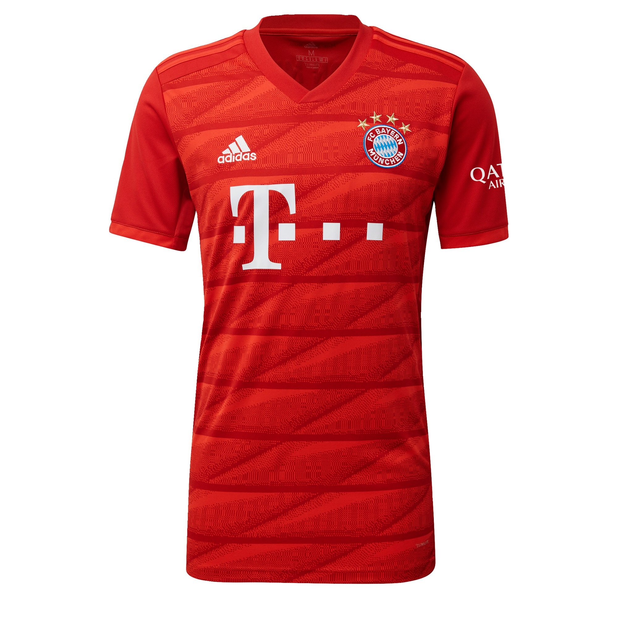 ADIDAS PERFORMANCE Triko 'FC Bayern München' raudona / balta