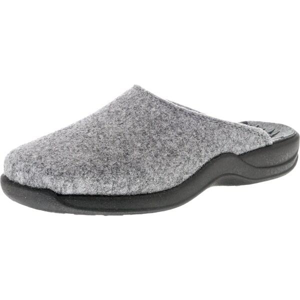 Hausschuhe für Frauen - Pantoffeln 'Vaasa D' › ROHDE › grau basaltgrau  - Onlineshop ABOUT YOU