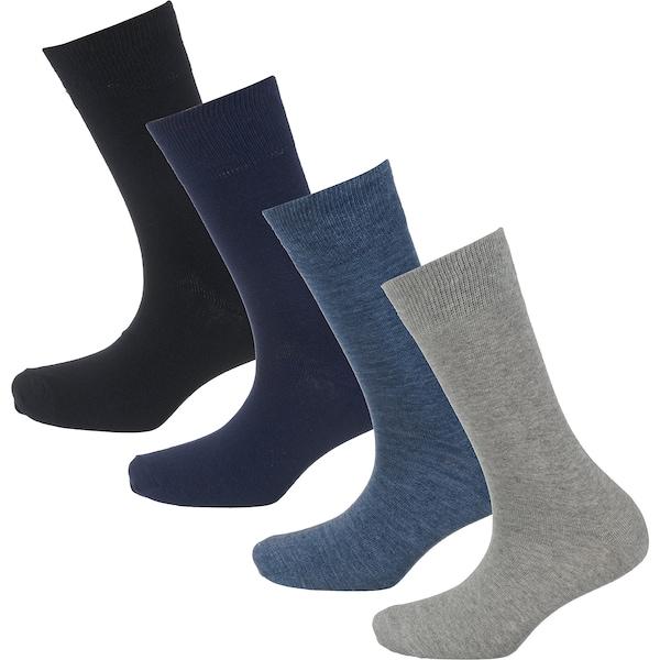Socken für Frauen - S.Oliver RED LABEL Socken nachtblau taubenblau graumeliert schwarz  - Onlineshop ABOUT YOU