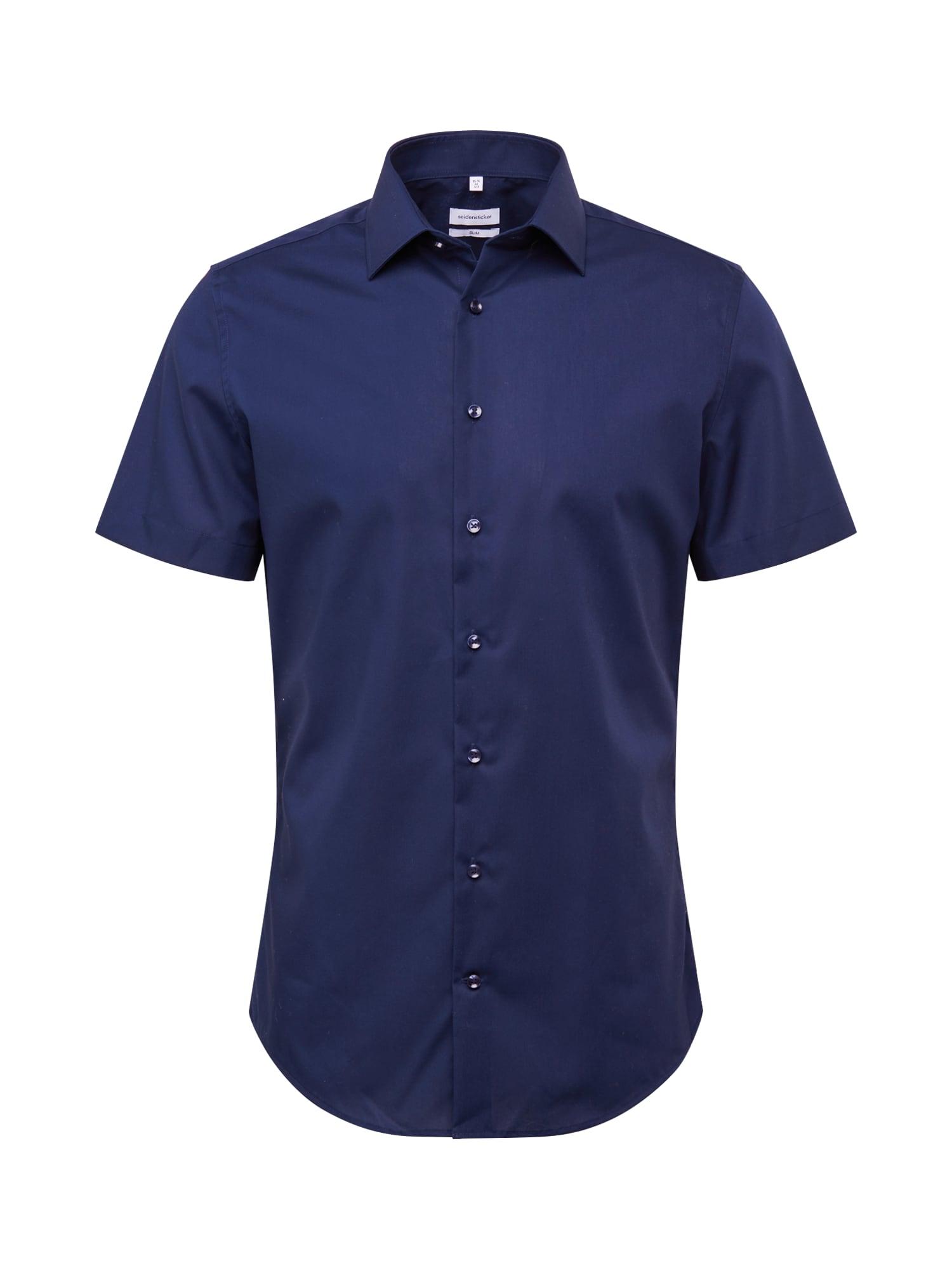 SEIDENSTICKER Marškiniai tamsiai mėlyna